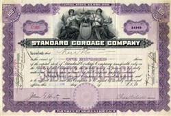 Standard Cordage Company (manufacturer of rope and twine) - 1906