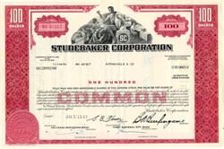 Studebaker Corporation - Michigan 1967