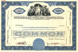 Studebaker Packard Corporation Specimen - New York