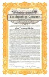 Stoughton Company - Wisconsin 1927