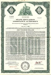 State Education Assistance Authority Revenue Bond  - North Carolina 1968