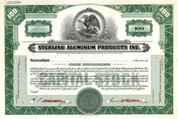 Sterling Aluminum Products Inc. ( Now Federal-Mogul Products )