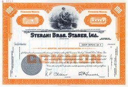 Sterghi Bros. Stores, Inc.