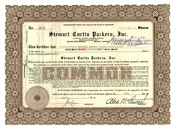 Stewart Curtis Packers, Inc.