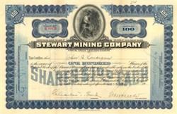 Stewart Mining Company 1916 - Idaho