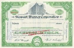Stewart - Warner Corporation - 1920's Vignette