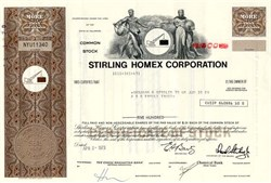 Stirling Homex Corporation - Delaware 1973