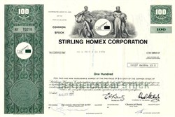 Stirling Homex Corporation - Delaware 1972