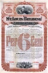 St. Louis Brewing Association - Missouri 1889