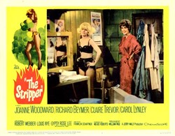 The Stripper Lobby Card Starring Joanne Woodward and Richard Beymer - 1963