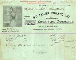 St. Louis Corset Company - 1900