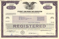Student Loan Marketing Association (Sallie Mae) - Floating Rate Inflation Indexed Note - 1987
