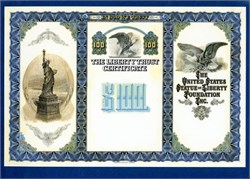 Statue of Liberty Foundation Liberty Trust Specimen Proof's ABNC - 1986