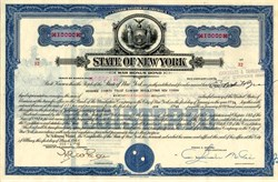 World War II Bonus Bond - New York 1949