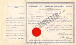 Standard Oil Company (Bahamas) Limited - Bahamas 1945