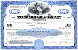 Standard Oil Company (9.2% Bond)  - Indiana 1976