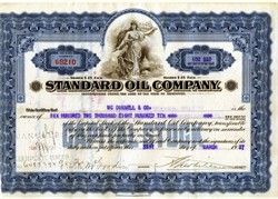 Standard Oil Company (Part of Rockefeller's Standard Oil Company Trust Breakup) - 1928