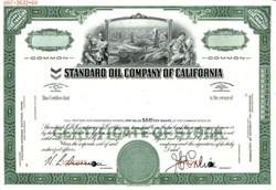Standard Oil Company of California (Became Chevron )  - California 1969
