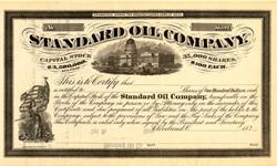 Standard Oil Company - Ohio 1870