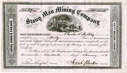 Stony Man Mining Company - Shenandoah National Park - Skyland, Virginia 1858