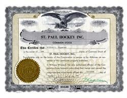St. Paul Hockey Inc. (St. Paul Rangers, a New York Rangers affiliate)  - Minnesota 1960