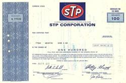 STP Corporation - Delaware 1972