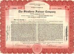 Struthers Furnace Company 1922