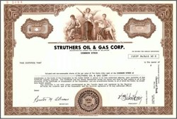 Struthers Oil & Gas Corp.