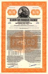 St. Louis - San Francisco Railway Company 1957 - Specimen