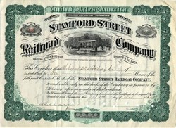 Stamford Street Railroad Company - Connecticut 1907