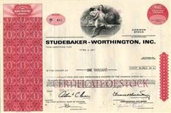 Studebaker Worthington , Inc. (Old Studebaker Car Company)