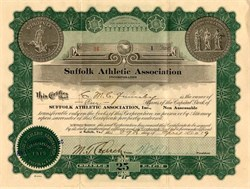 Suffolk Athletic Association - Virginia 1919