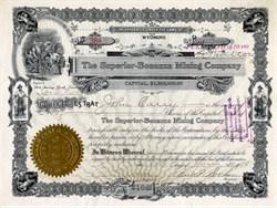 Superior Bonanza Mining Company - Wyoming 1908