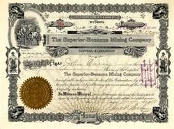 Superior - Bonanza Mining Company - Wyoming 1908