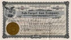 Sub Target Gun Company - Maine  1904