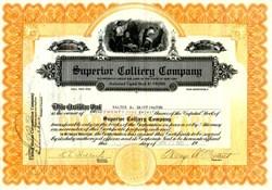 Superior Colliery Company (Coal Mines in Ohio)  - New York 1923