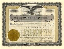 Sunburst Consolidated Royalties Company - Montana 1923