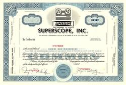 Superscope, Inc. - California 1954