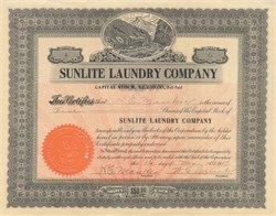 Sunlite Laundry Company of St. Louis - 1917
