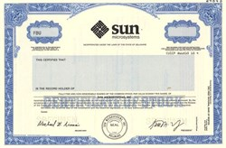 Sun Microsystems  (Created the Java programming language - acquired by Oracle)  - Delaware 1989