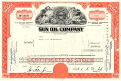 Sun Oil Company  (Now Sunoco ) - New Jersey 1971