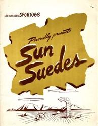 Sun Suedes - Los Angeles, California 1947