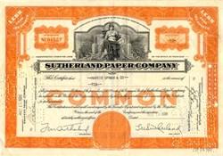 Sutherland Paper Company - New York 1936