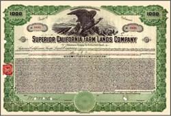 Superior California Farm Lands Company - 1916
