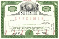 Swank, Inc.