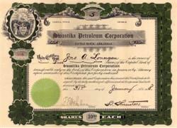 Swastika Petroleum Corporation 1918 - Little Rock, Arkansas