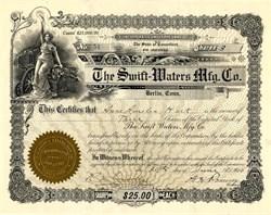 Swift-Waters Mfg. Co. - Berlin, Connecticut 1910