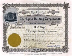 Syria Holding Corporation - Mystic Order of Veiled Prophets of the Enchanted Realm