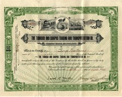 Tabasco and Chiapas Trading and Transportation Company ( Steamship Company) - New Jersey 1906