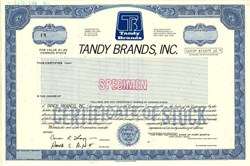 Tandy Brands, Inc. - Delaware 1983